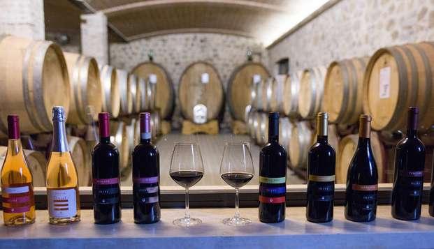 Séjour de 5 nuits en Toscane avec dégustation de vin et visite de la cave