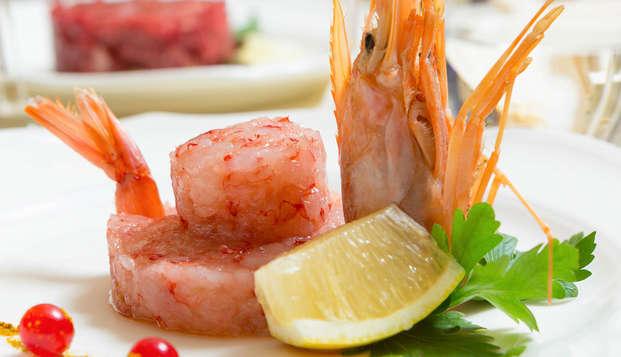 Week-end gastronomique à Rome : nuit avec dîner dans un élégant hôtel 4 étoiles