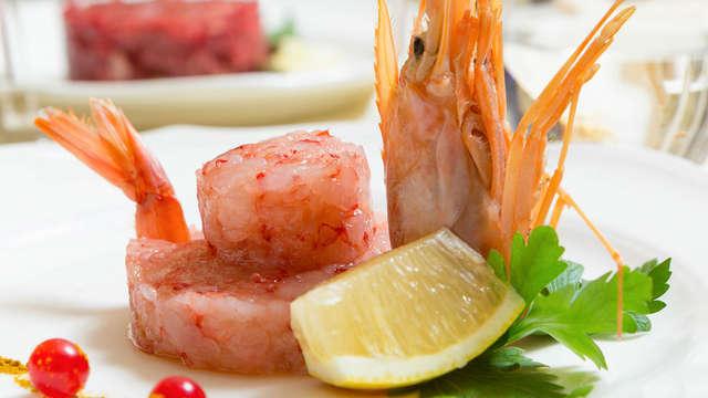 Weekend gastronomico a Roma: notte con cena in elegante hotel 4 stelle