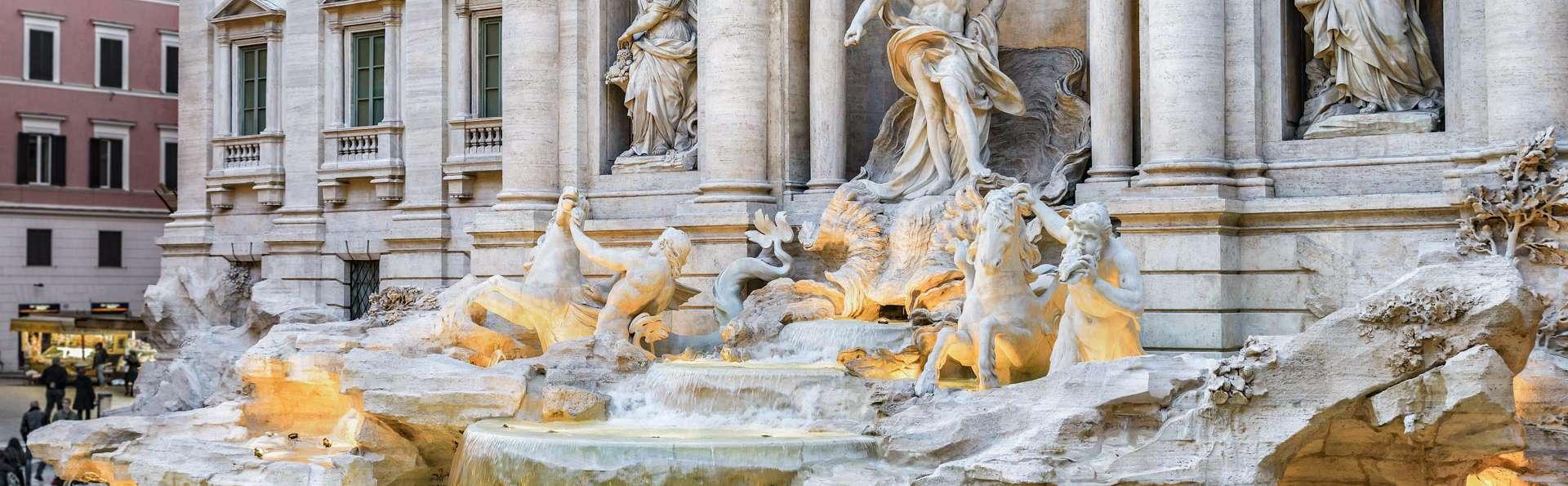 Confort au cœur de Rome : en hôtel 4 étoiles avec petit déjeuner et verre de bienvenue