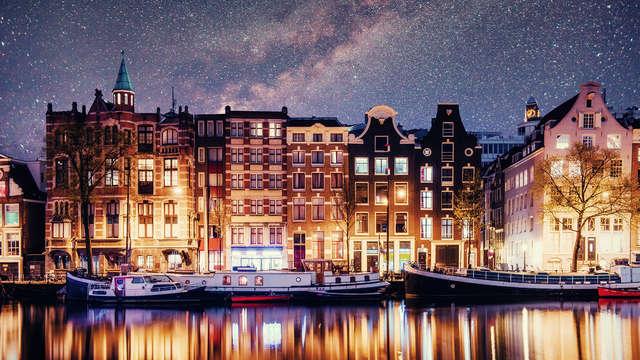 Een gezellig vakantietje in Amsterdam en ervan bijkomen in de spa