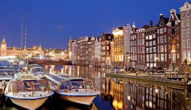 Comfort en gekkigheid, kom naar Amsterdam en bewonder het Hollandse licht
