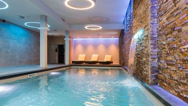 Optimaal ontspannen in een Junior Suite met toegang tot de Vitality Spa