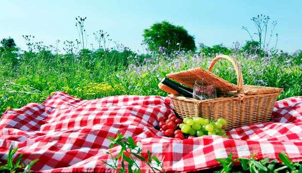 Descubre el embalse de canales y la naturaleza de Sierra Nevada con picnic incluido (desde 2 noches)