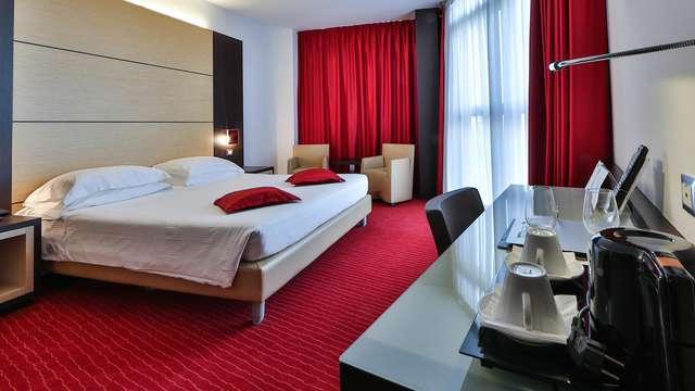 Descubre Padua en un moderno hotel 4*