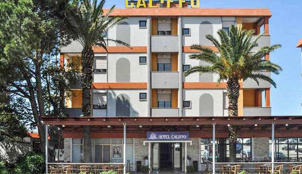 Disfruta de tres noches en el hotel Califfo de Cerdeña