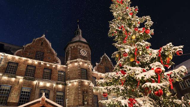 Een vrolijke en rustgevende kersttijd in Düsseldorf