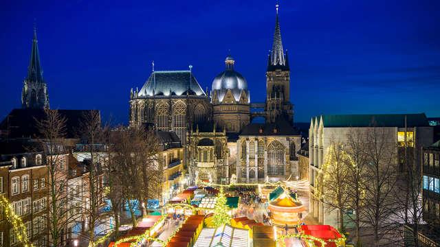 Ontdek de prachtige Kerstmarkt in Aken nabij Düren