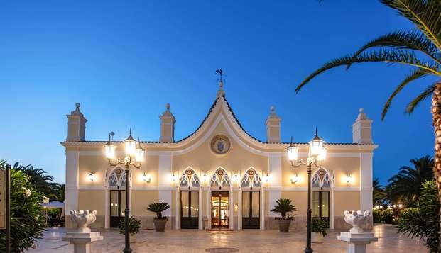Pasea por el centro histórico de Lucera con estancia en una fantástica suite