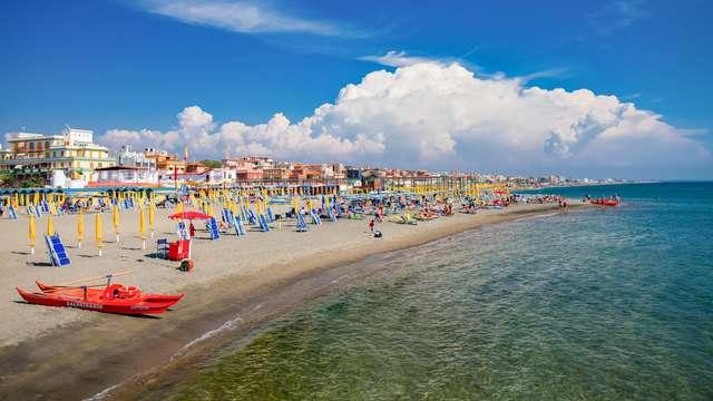 Week-end à Ostia Lido : deux nuits dans un hôtel élégant en bord de mer