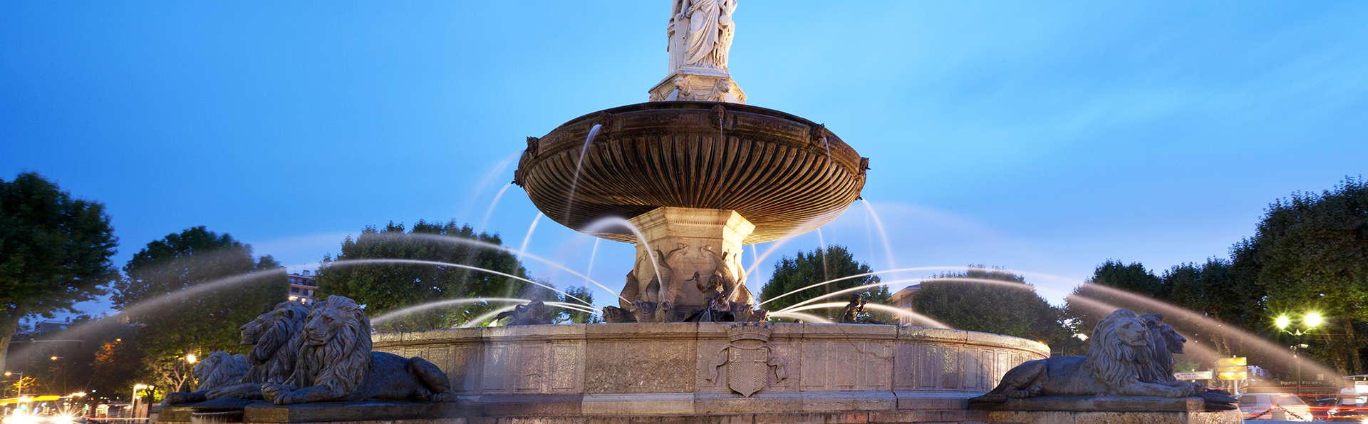 Au cœur d'Aix-en-Provence dans un cadre Art Déco