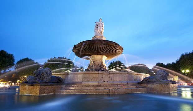 Descubre el corazón de Aix-en-Provence en un hotel Art Déco