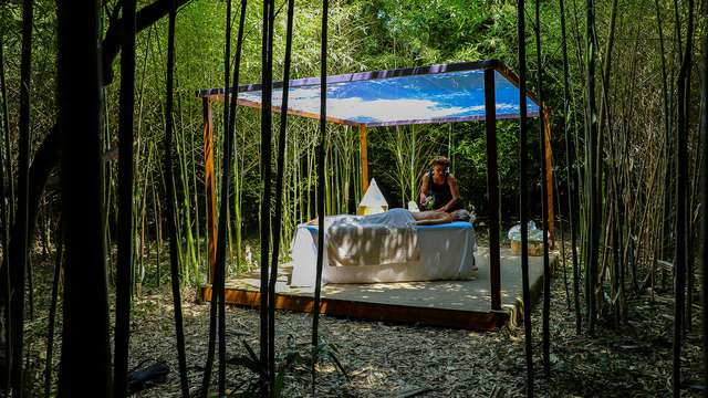 Relax y masaje en un castillo entre Arles y Aviñón