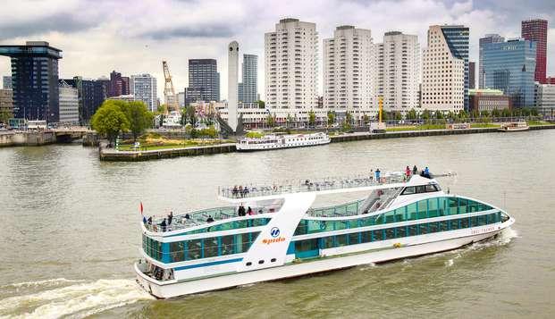 Séjour avec petit-déjeuner et belle balade nautique à Rotterdam