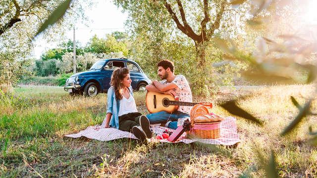 Sorprende a tu pareja con un acceso al spa y detalle romántico en plena naturaleza