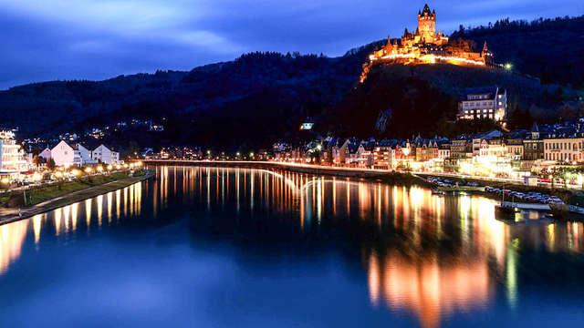 Rust uit op een steenworp afstand van Koblenz