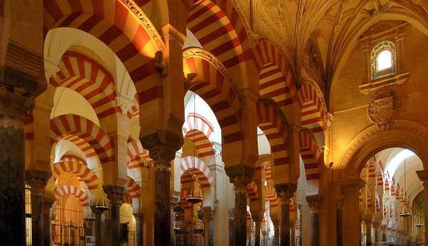 Escapade avec visite à la mosquée-cathédrale, dans un patio typique de Cordoue