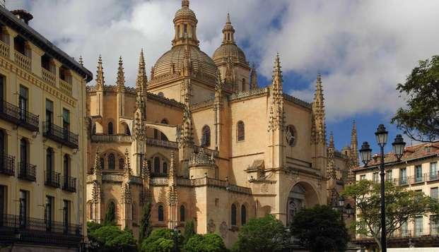 Escapada con visita guiada por Segovia para descubrir la magnífica Catedral y el Alcázar
