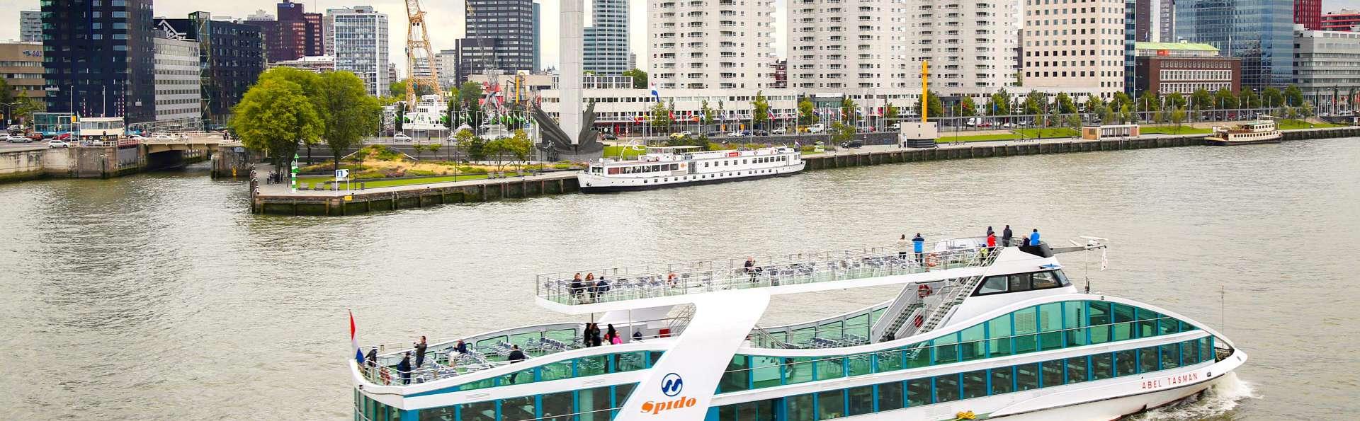 Luxe, confort et visite en Spido au cœur de Rotterdam