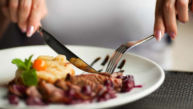 Dîner bistronomique 3 plats pour 2 adultes