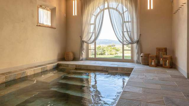 Weekend con accesso spa in un lussuoso resort con vista in Toscana