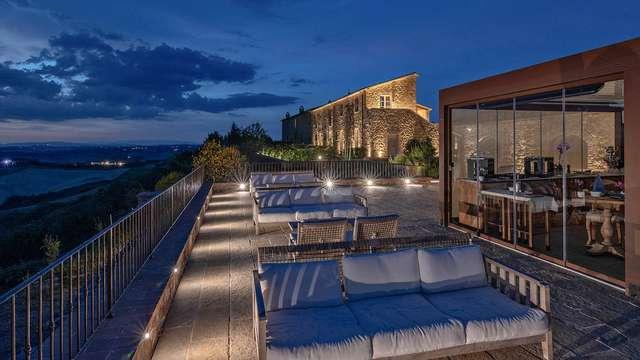 Nuit en hôtel 4*, en chambre Superior à Montalcino