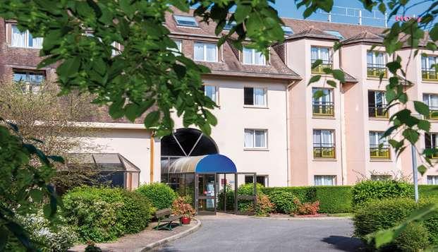 Escapade en chambre triple près de Deauville !