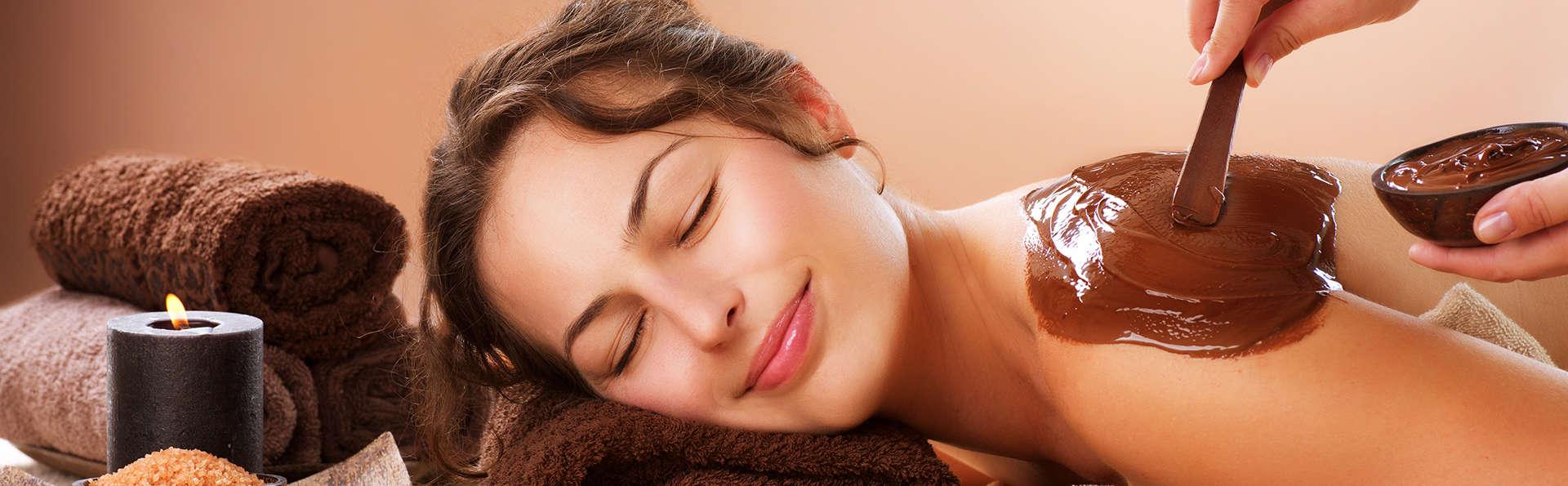 Escapada romántica con spa y masaje con esencia de chocolate