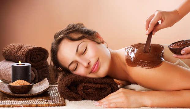 Relax total para choco adictos: escapada con spa y masaje con esencia de chocolate