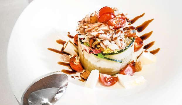 Escapada con cena gourmet incluida a un Monasterio 4* a una hora de Zaragoza