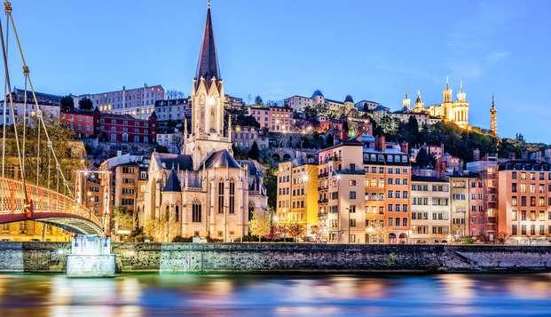Partez à la découverte de Lyon.