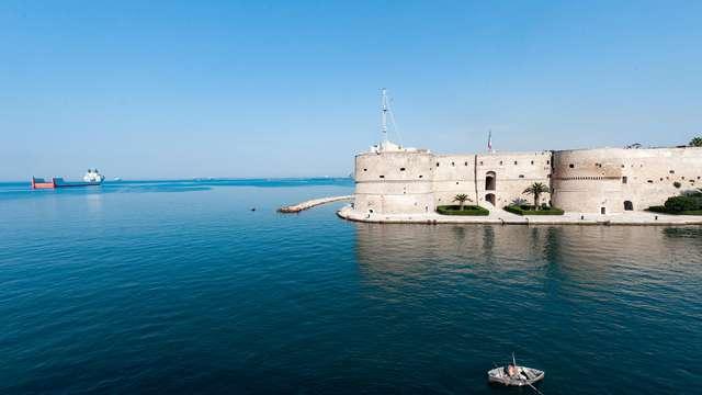 Estancia en Taranto con aperitivo incluido
