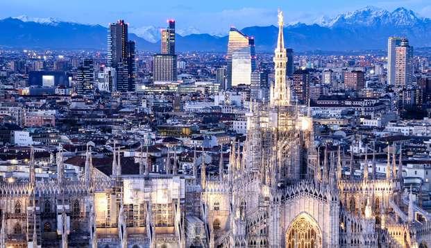 Séjour de deux nuits en hôtel 4 étoiles à Milan