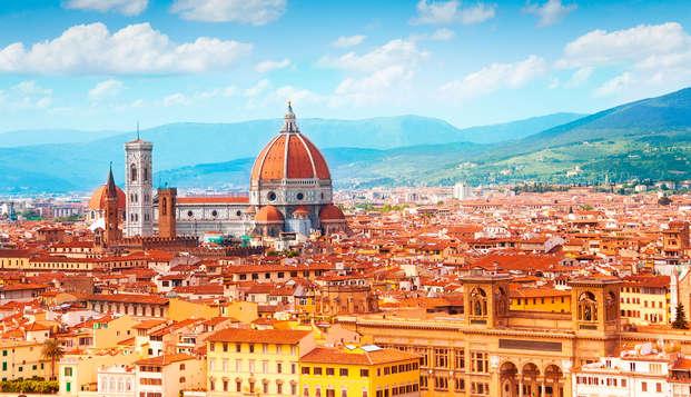 Descubre Florencia en una habitación superior en el centro de la ciudad