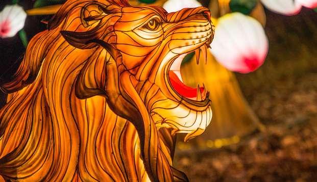 Sumérgete en la vida salvaje del Parque de Thoiry (desde 2 noches)