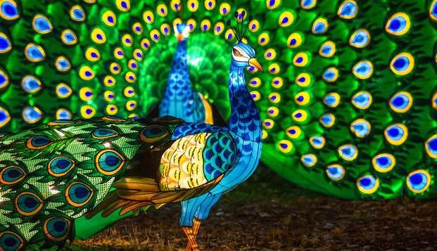 Week-end en famille avec immersion dans le Zoosafari de Thoiry