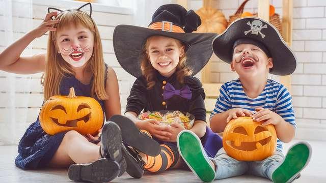 Halloween met het gezin met leuke activiteiten voor kinderen