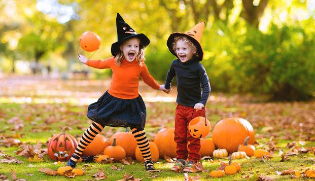 Familietrillingen met Halloween