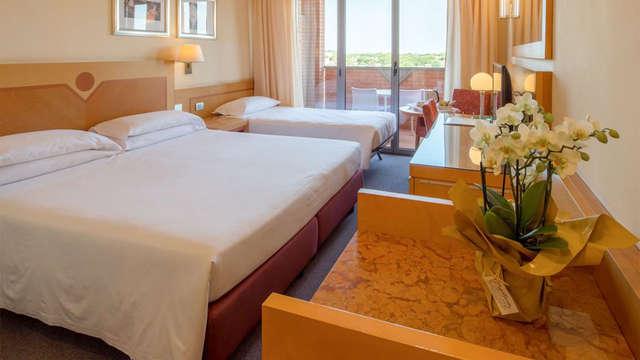 Hôtel 4* entre Rome et Ostie, en chambre triple