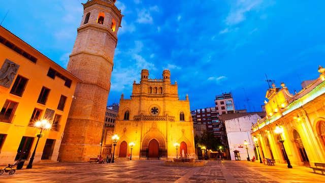 Découvrez Castellón de la Plana dans un hôtel confortable à quelques pas du centre-ville