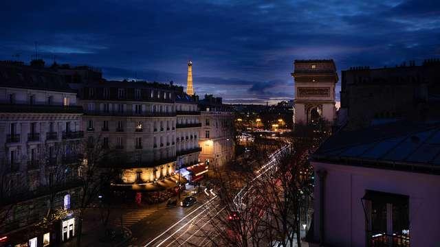 Week-end à deux pas des Champs Elysées à Paris