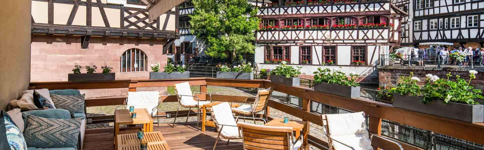 Week-end bien-être dans un prestigieux hôtel strasbourgeois