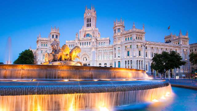 Descubre la capital y alójate en un hotel 4* cerca de Madrid