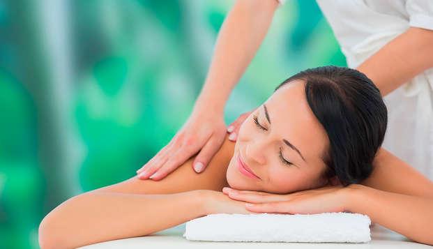 Escapada Premium en la Costa Brava con Spa, masaje relajante, cava y salida tardía