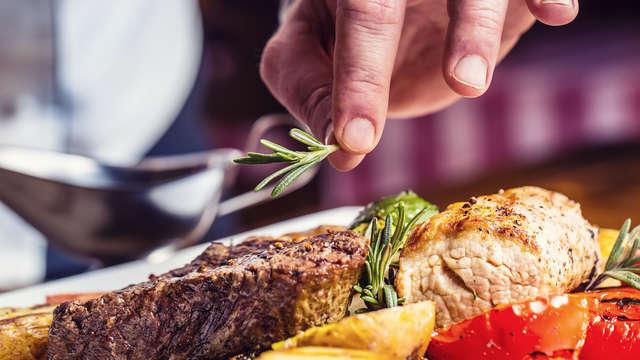 Geniet van Wild gerechten in de prachtige Ardennen