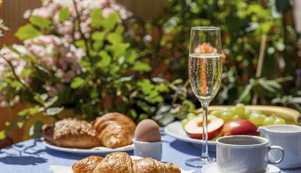 Festeggiate il nuovo anno all'insegna del lusso con champagne a colazione a Bruges