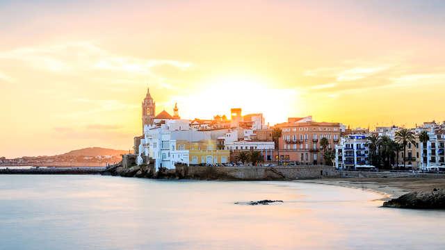 Evasión de ensueño en habitación con vistas al mar en Sitges