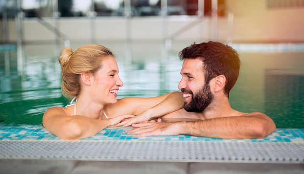 Escapada con cena romántica y circuito de spa (desde 2 noches)