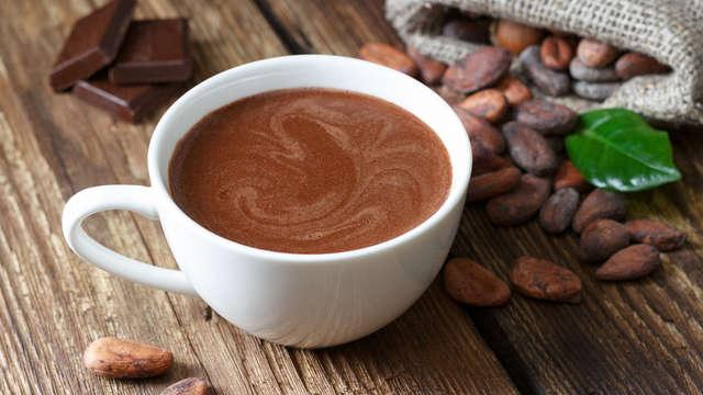 1 Tasse de chocolat chaud pour 2 adultes