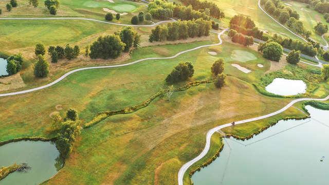 Week-end golf sur les étangs de la Dombes